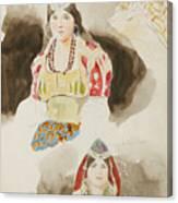 Album De Voyage Au Maroc Canvas Print