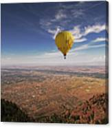 Albuquerque Flight Canvas Print