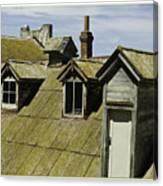 Alcaltraz Roofline Canvas Print