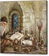 Alchemist Canvas Print