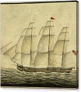 Alcono Sailing Vessel Canvas Print