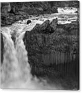 Aldeyjarfoss Waterfall Iceland 3353 Canvas Print