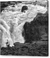 Aldeyjarfoss Waterfall Iceland 3381 Canvas Print