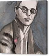 Aldous Huxley Canvas Print