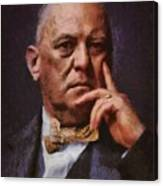 Aleister Crowley, Infamous Occultist Canvas Print
