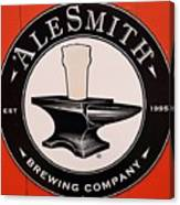Alesmith Sign, Newport R. I. Canvas Print