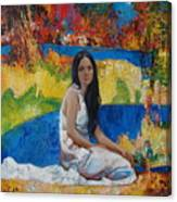 Alesya Canvas Print