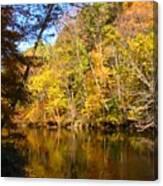 Alexandria Creek In The Fall Canvas Print
