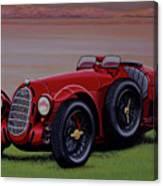 Alfa Romeo 8c 2900a Botticella Spider 1936 Painting Canvas Print