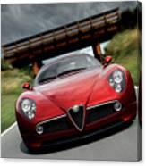 Alfa Romeo 8c Competizione Canvas Print