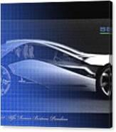Alfa Romeo Bertone Pandion Concept Canvas Print