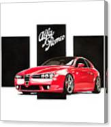 Alfa Romeo Brera Canvas Print