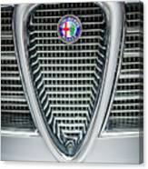 Alfa-romeo Grille Emblem Canvas Print