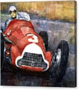 Alfa Romeo158 British Gp 1950 Luigi Fagioli Canvas Print