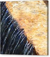 Alfred Caldwell Lily Pool Waterfall Canvas Print