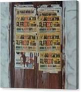Alfredo, Alfredo Canvas Print