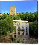 Alhambra Environs Canvas Print