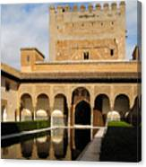 Alhambra Palace Granada Spain Canvas Print