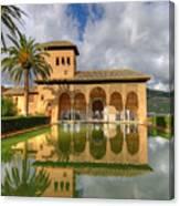 Alhambra Pool Canvas Print