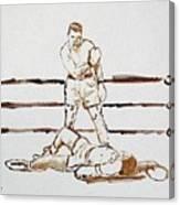 Ali Knockout Canvas Print
