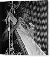 Alice Coltrane On Harp Canvas Print