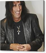 Alice Cooper Happy Canvas Print