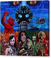 Alice Cooper Nightmare Canvas Print