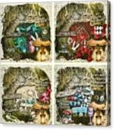 Alice Of Wonderland Series Canvas Print