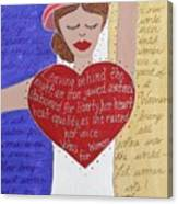 Alice Paul Canvas Print
