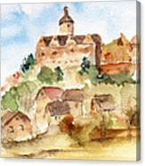 Alice's Castle Canvas Print