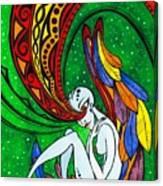 Alien Angel Canvas Print