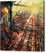 Alien Bazaar Canvas Print