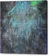 Alien Bigfoot Canvas Print