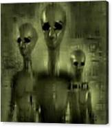 Alien Brothers Canvas Print