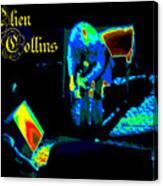 Cosmic Ac Canvas Print