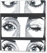 Alien Eyes Canvas Print