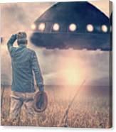 Alien Invasion Canvas Print