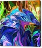 Alien Jungle Flora Canvas Print