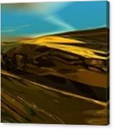 Alien Landscape 2-28-09 Canvas Print