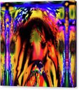 Alien Lock Up Canvas Print