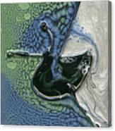 Alien Ocean Sigil Canvas Print