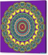 Alien Prayer Circle Canvas Print