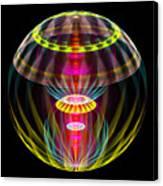 Alien Sphere Fractal Fantasy Canvas Print