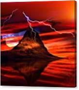Alien Sunrise Canvas Print