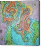 Alien Universe Canvas Print