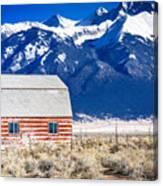 All American Barn Canvas Print