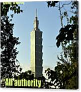All Authority Canvas Print