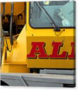 All Crane All The Time Canvas Print