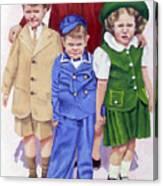 All My Children Canvas Print