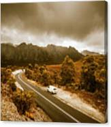All Roads Lead To Adventure Canvas Print